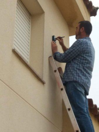 aislamientos proyectados celulosa Tarragona