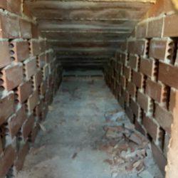 Aislamiento con celulosa insuflada en un tejado