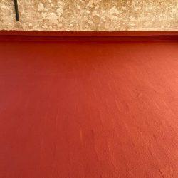 Trabajos de impermeabilización de Sant Jaume D'Enveja