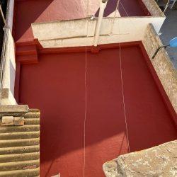 Reparación e impermeabilización de una terraza en Sant Jaume D' Enveja
