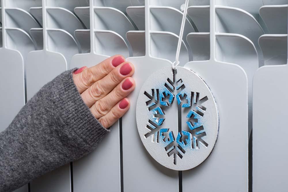 Aislamiento térmico en un temporal de frío y nieve